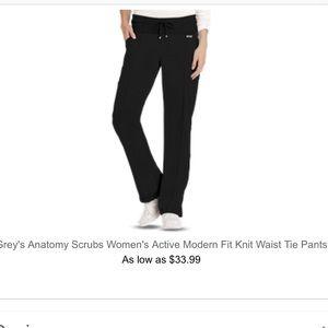 Grey's Anatomy Active LP Scrub Pants.